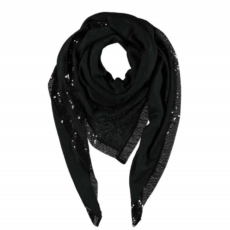 Passigatti Tuch Suada Schwarz, Farbe: schwarz, Marke: Passigatti, EAN: 4046124015632, Abmessungen in cm: 220.0x115.0, Bild 1 von 1