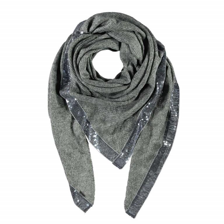 Passigatti Tuch Suada Grau, Farbe: grau, Marke: Passigatti, EAN: 4046124015649, Abmessungen in cm: 220.0x115.0, Bild 1 von 1