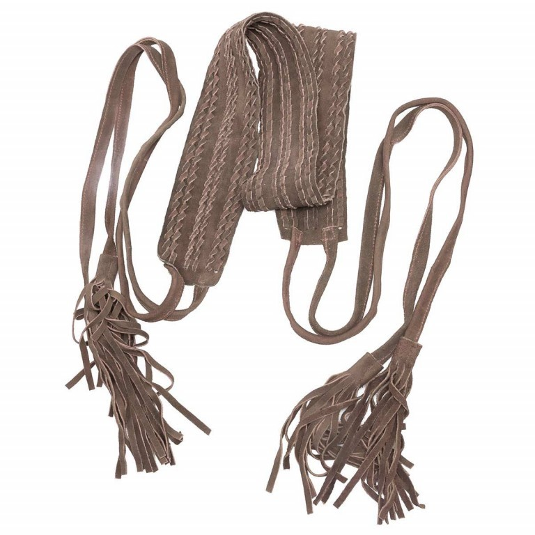 Passigatti Ledergürtel Fransen Braun, Farbe: braun, Marke: Passigatti, EAN: 4046124012167, Bild 2 von 2