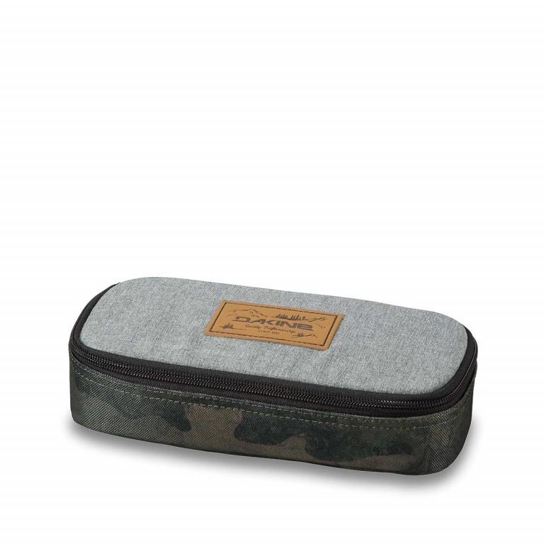 Dakine School Case Federmäppchen Glisan Lightgrey, Farbe: grau, Marke: Dakine, EAN: 0610934096378, Abmessungen in cm: 22.0x10.0x5.0, Bild 1 von 1