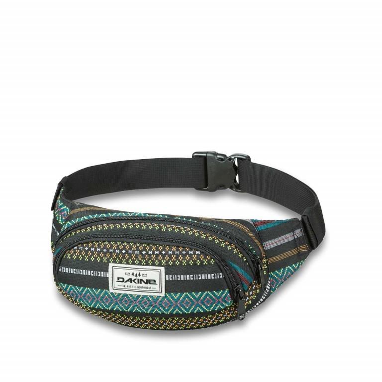 Dakine Hip Pack Gürteltasche Dakota Black, Farbe: schwarz, grün/oliv, bunt, Marke: Dakine, EAN: 0610934030785, Abmessungen in cm: 23.0x13.0x8.0, Bild 1 von 1