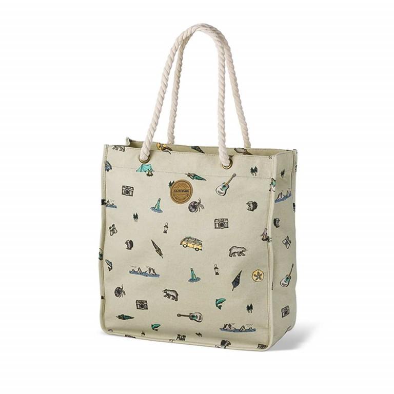 Dakine Surfside Shopper Rockaway Beige, Farbe: beige, Marke: Dakine, EAN: 0610934032413, Abmessungen in cm: 38.0x41.0x6.0, Bild 1 von 1