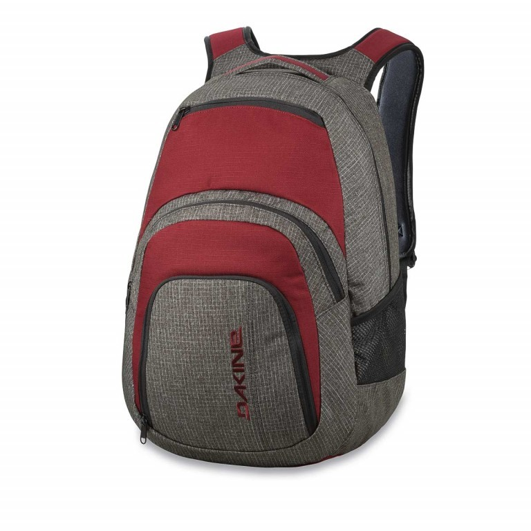 Dakine Campus Large Rucksack Willamette Anthra Winered, Marke: Dakine, EAN: 0610934088724, Abmessungen in cm: 33.0x51.0x23.0, Bild 1 von 1
