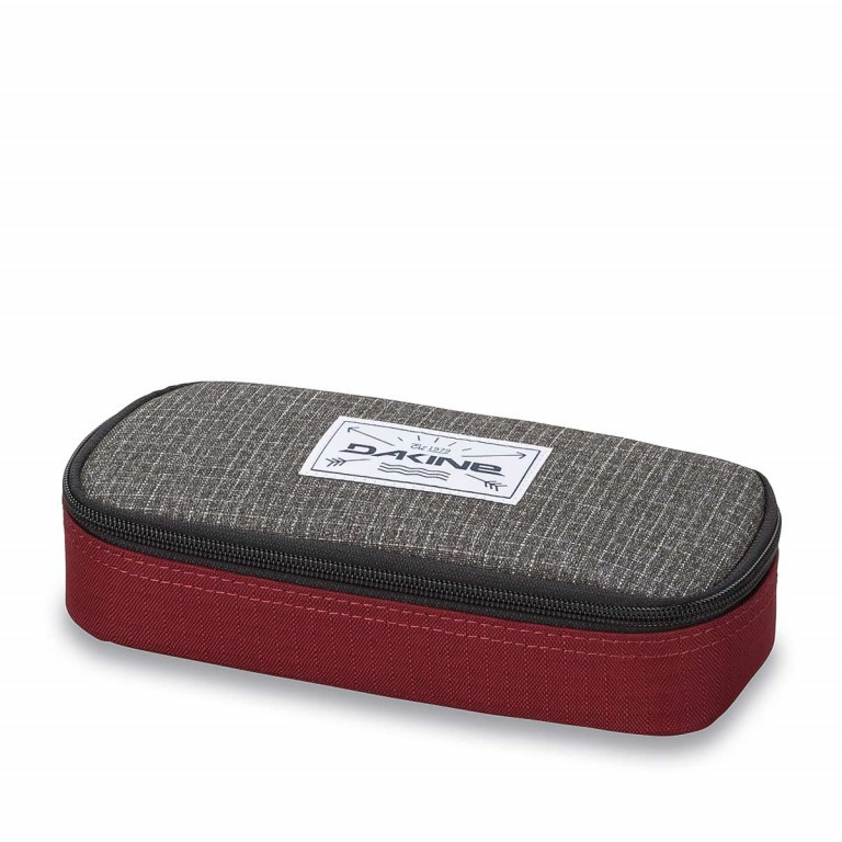 Dakine School Case Federmäppchen Willamette Anthra Winered, Manufacturer: Dakine, EAN: 0610934089349, Dimensions (cm): 22.0x10.0x5.0, Image 1 of 1