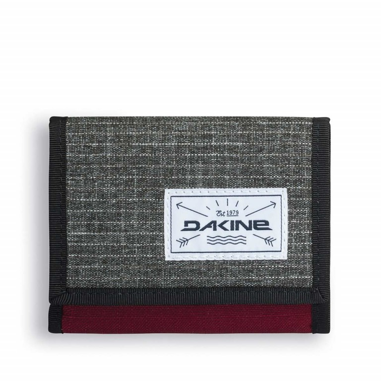 Dakine Diplomat Wallet Geldbörse Willamette Anthra Winered, Manufacturer: Dakine, EAN: 0610934090284, Dimensions (cm): 12.0x10.0x2.0, Image 1 of 2