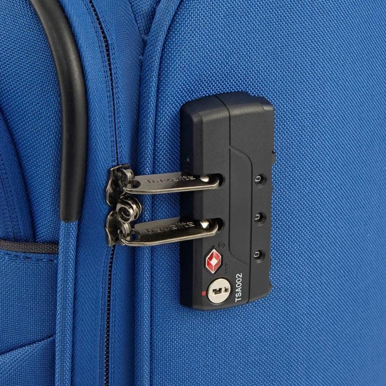 Travelite Cabin 2-Rad Bordtrolley 55cm Türkis, Farbe: grün/oliv, Marke: Travelite, Abmessungen in cm: 40.0x55.0x20.0, Bild 4 von 5