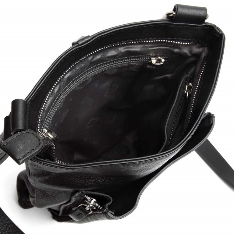 Adax Sorano 220394 Crossbody Black, Farbe: schwarz, Marke: Adax, EAN: 5705483149899, Abmessungen in cm: 19.0x24.0x6.0, Bild 3 von 3