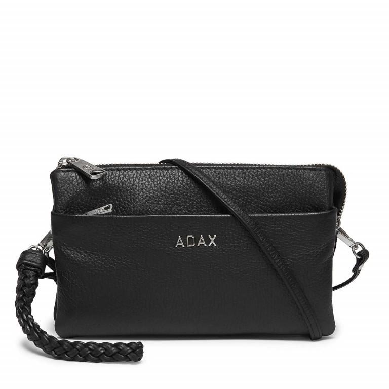 Adax Cormorano 227392 Combi Clutch Black, Farbe: schwarz, Marke: Adax, EAN: 5705483160696, Abmessungen in cm: 20.0x12.0x3.0, Bild 1 von 3