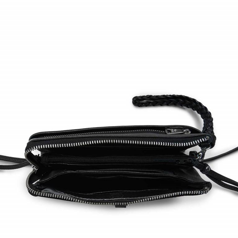 Adax Cormorano 227392 Combi Clutch Black, Farbe: schwarz, Marke: Adax, EAN: 5705483160696, Abmessungen in cm: 20.0x12.0x3.0, Bild 3 von 3