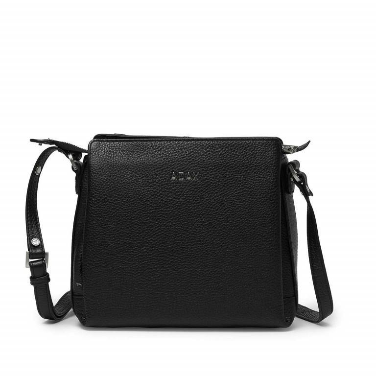Adax Cormorano 229892 Tasche Black, Farbe: schwarz, Marke: Adax, EAN: 5705483160306, Abmessungen in cm: 23.0x22.0x7.0, Bild 1 von 1