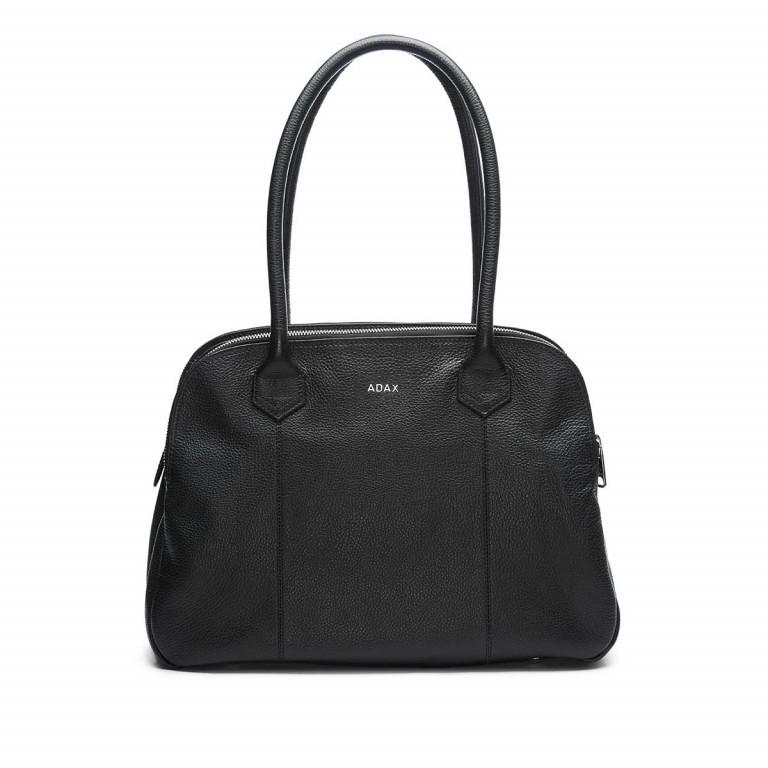 Adax Cormorano 231192 Business Bag Black, Farbe: schwarz, Marke: Adax, EAN: 5705483162164, Abmessungen in cm: 40.0x28.0x14.0, Bild 1 von 3