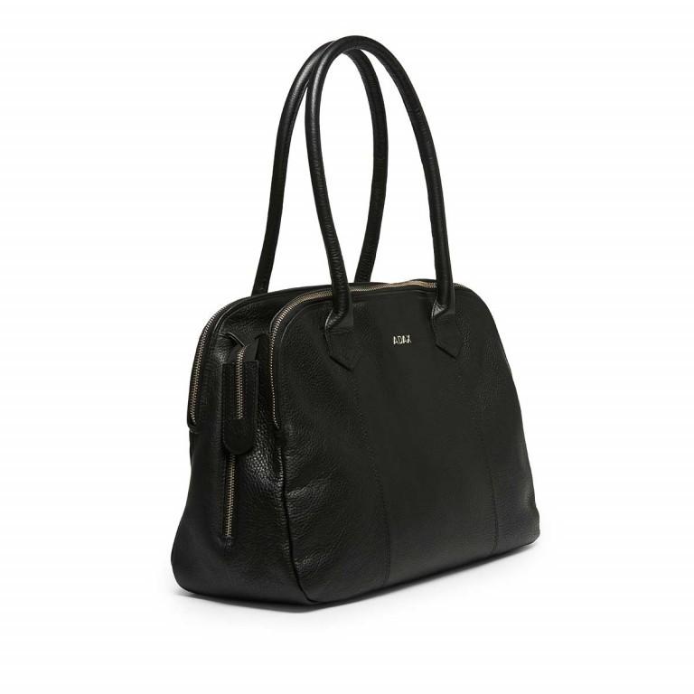 Adax Cormorano 231192 Business Bag Black, Farbe: schwarz, Marke: Adax, EAN: 5705483162164, Abmessungen in cm: 40.0x28.0x14.0, Bild 2 von 3