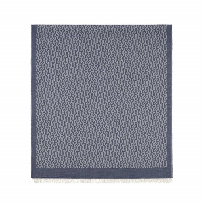 AIGNER Casual Schal 242591 Blue, Farbe: blau/petrol, Marke: Aigner, Abmessungen in cm: 80.0x180.0, Bild 1 von 2