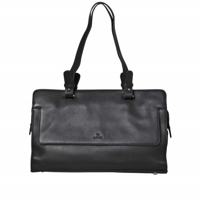 Adax Sorano 250294 Kleiner Shopper Black, Farbe: schwarz, Marke: Adax, EAN: 5705483183848, Abmessungen in cm: 33.0x20.0x9.0, Bild 1 von 3