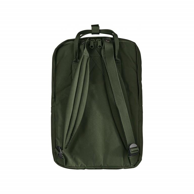Fjällräven Kånken Laptop 15'' Rucksack Schwarz, Farbe: schwarz, Marke: Fjällräven, Abmessungen in cm: 40.0x28.0x16.0, Bild 2 von 4