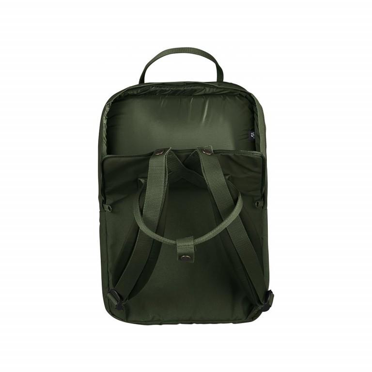 Fjällräven Kånken Laptop 15'' Rucksack Schwarz, Farbe: schwarz, Marke: Fjällräven, Abmessungen in cm: 40.0x28.0x16.0, Bild 3 von 4