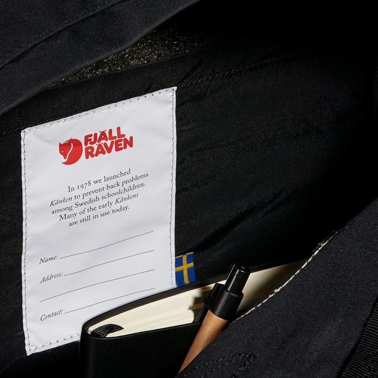 Fjällräven Kånken Laptop 17'' Rucksack, Farbe: schwarz, anthrazit, grau, blau/petrol, cognac, taupe/khaki, grün/oliv, rot/weinrot, rosa/pink, orange, gelb, beige, Marke: Fjällräven, Abmessungen in cm: 30.0x42.0x18.0, Bild 8 von 14