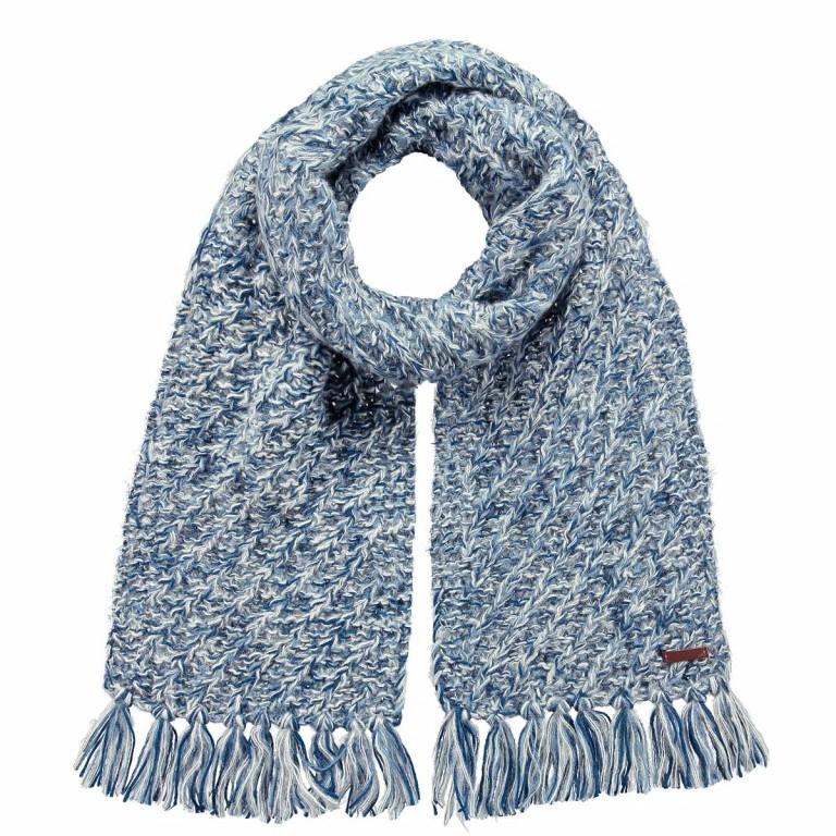 Barts Olza Schal Blue, Farbe: blau/petrol, Marke: Barts, EAN: 8717457480058, Abmessungen in cm: 200.0x24.0, Bild 1 von 1
