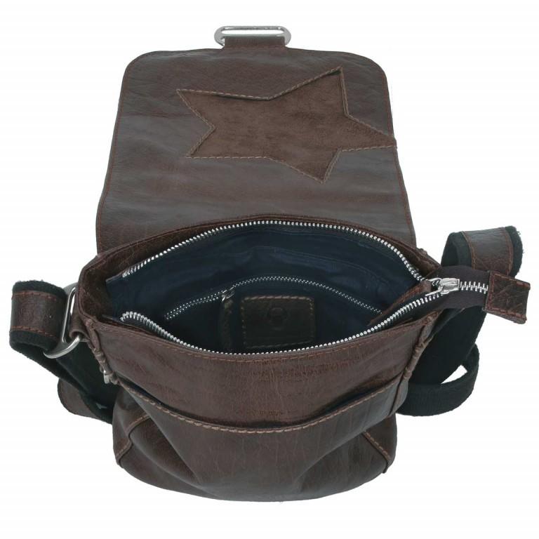 Bull & Hunt Speed Kuriertasche Star Waxed Cognac, Farbe: cognac, Marke: Bull & Hunt, Abmessungen in cm: 18.0x23.0x6.0, Bild 4 von 4