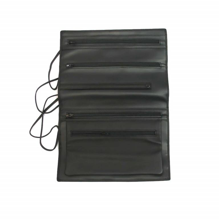 Windrose Nappa Schmuckrolle L Schwarz, Farbe: schwarz, Marke: Windrose, Abmessungen in cm: 23.5x9.0x3.5, Bild 4 von 4