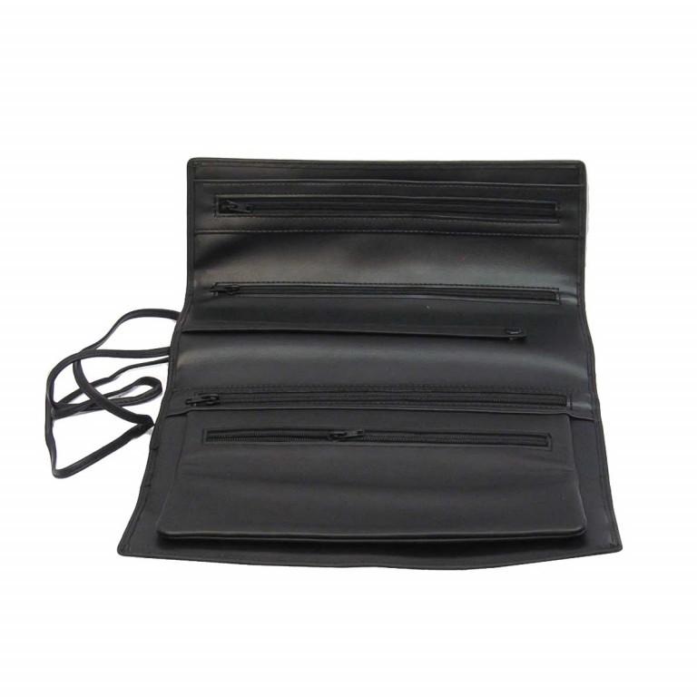 Windrose Nappa Schmuckrolle L Schwarz, Farbe: schwarz, Marke: Windrose, Abmessungen in cm: 23.5x9.0x3.5, Bild 3 von 4