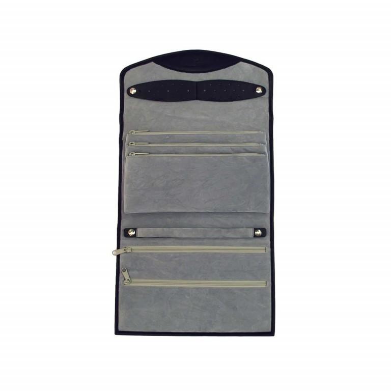 Windrose Nappa Schmucktasche XL Schwarz, Farbe: schwarz, Marke: Windrose, Abmessungen in cm: 23.0x5.0x16.0, Bild 4 von 4