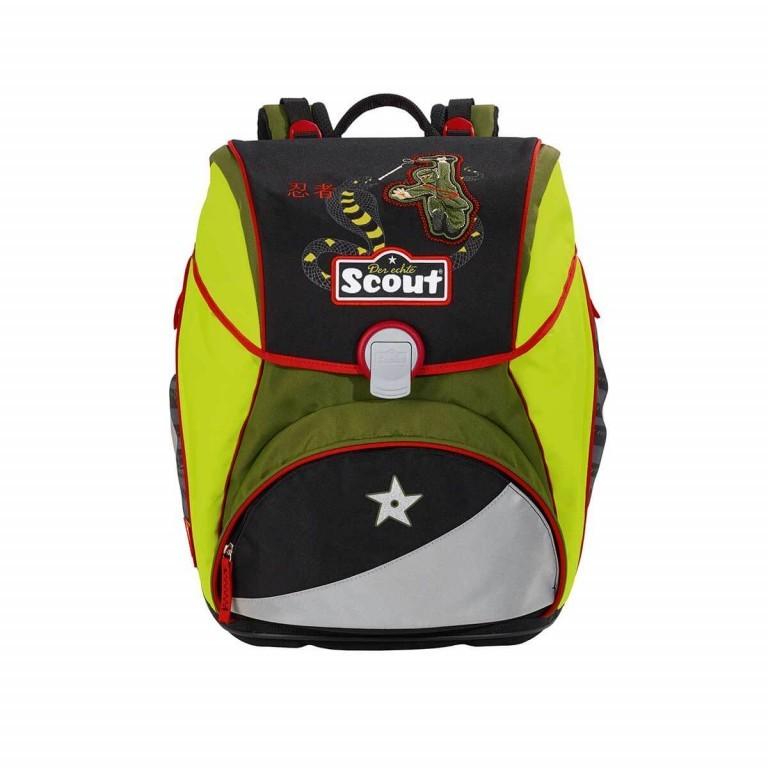 Scout Alpha Set 4-tlg. Ninja Snake, Farbe: anthrazit, grün/oliv, Marke: Scout, Abmessungen in cm: 32.0x40.0x25.0, Bild 2 von 9