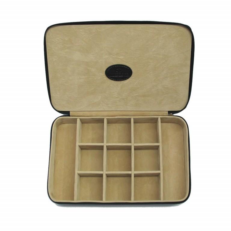 Windrose Merino Charmbox Schwarz, Farbe: schwarz, Marke: Windrose, Abmessungen in cm: 23.0x14.5x5.0, Bild 3 von 3