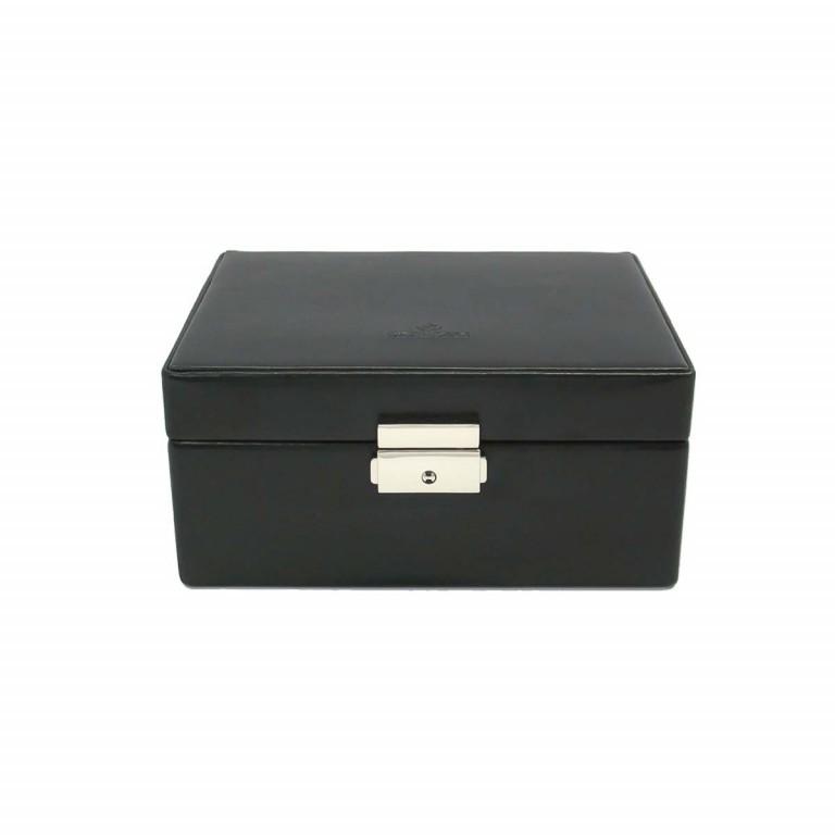 Windrose Merino Uhrenkassette Schwarz, Farbe: schwarz, Marke: Windrose, Abmessungen in cm: 19.5x8.5x15.5, Bild 3 von 4