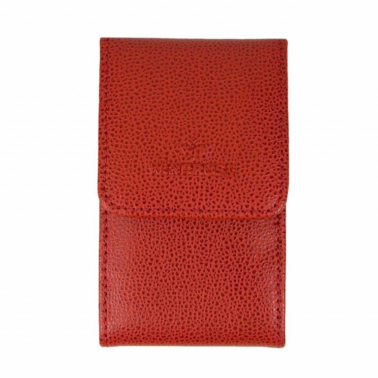 Windrose Beluga Manicure Set XS Rot, Farbe: rot/weinrot, Marke: Windrose, Abmessungen in cm: 6.5x10.0x1.5, Bild 2 von 3