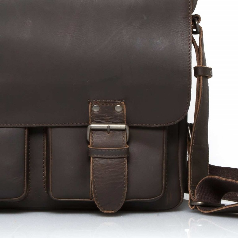 Aunts & Uncles Hunter Finn Leder Vintage Brown, Farbe: braun, Marke: Aunts & Uncles, Abmessungen in cm: 38.0x31.0x15.0, Bild 5 von 5