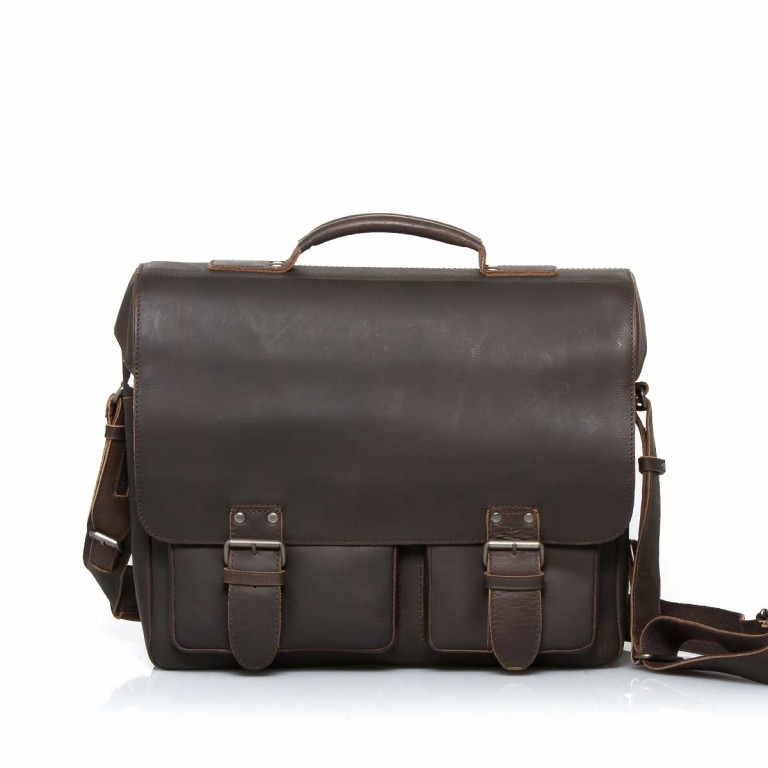 Aunts & Uncles Hunter Finn Leder Vintage Brown, Farbe: braun, Marke: Aunts & Uncles, Abmessungen in cm: 38.0x31.0x15.0, Bild 1 von 5