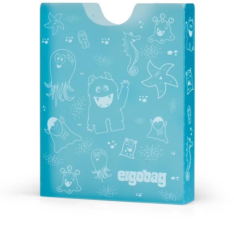Ergobag Heftebox, Farbe: blau/petrol, flieder/lila, rosa/pink, Marke: Ergobag, Abmessungen in cm: 24.0x31.0x5.0, Bild 1 von 1