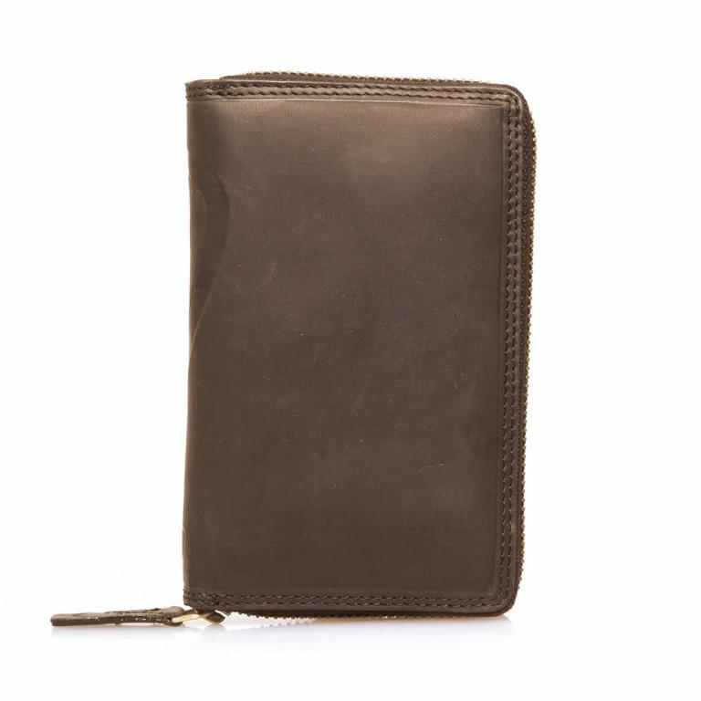 Strellson Phone Wallet Z5 Leder Dark Brown, Farbe: braun, Marke: Strellson, EAN: 4053533202300, Abmessungen in cm: 15.0x9.5x2.5, Bild 2 von 3