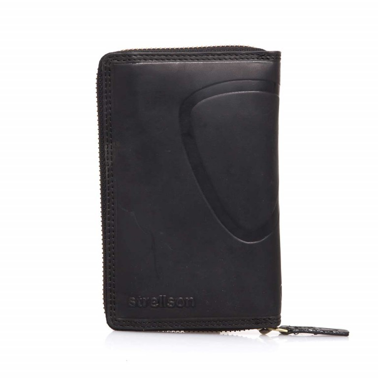 Strellson Phone Wallet Z5 Leder Black, Farbe: schwarz, Marke: Strellson, EAN: 4053533200818, Abmessungen in cm: 15.0x9.5x2.5, Bild 1 von 3