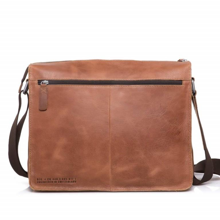 Strellson Blake Shoulder Bag LH Cognac, Farbe: cognac, Marke: Strellson, EAN: 4053533279456, Abmessungen in cm: 38.0x32.0x11.0, Bild 2 von 3