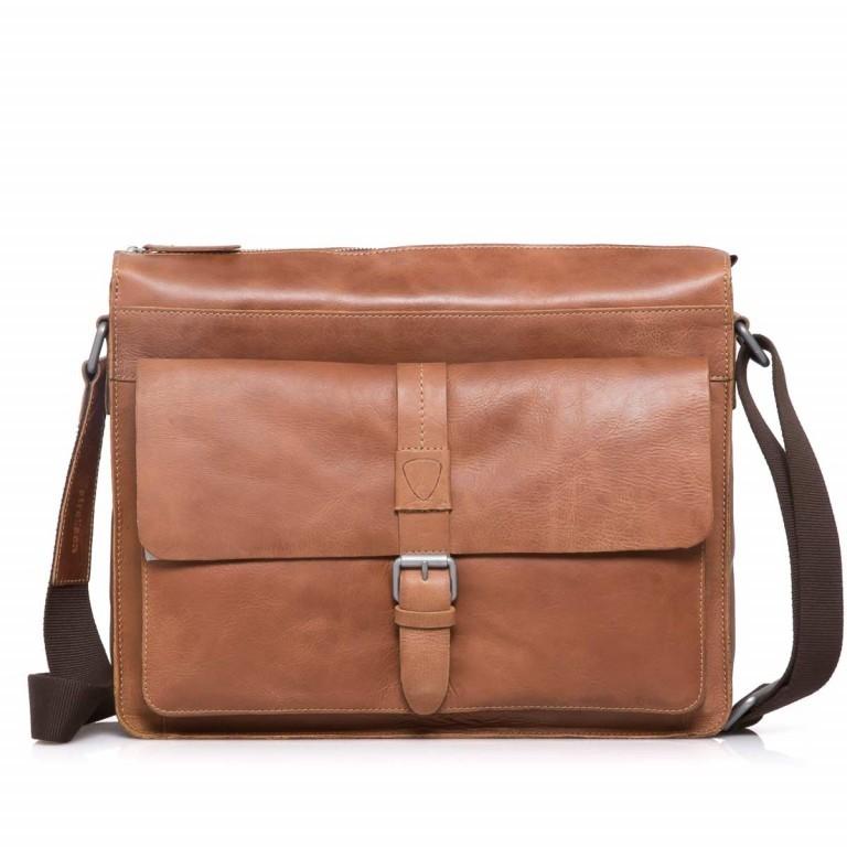 Strellson Blake Shoulder Bag LH Cognac, Farbe: cognac, Marke: Strellson, EAN: 4053533279456, Abmessungen in cm: 38.0x32.0x11.0, Bild 1 von 3
