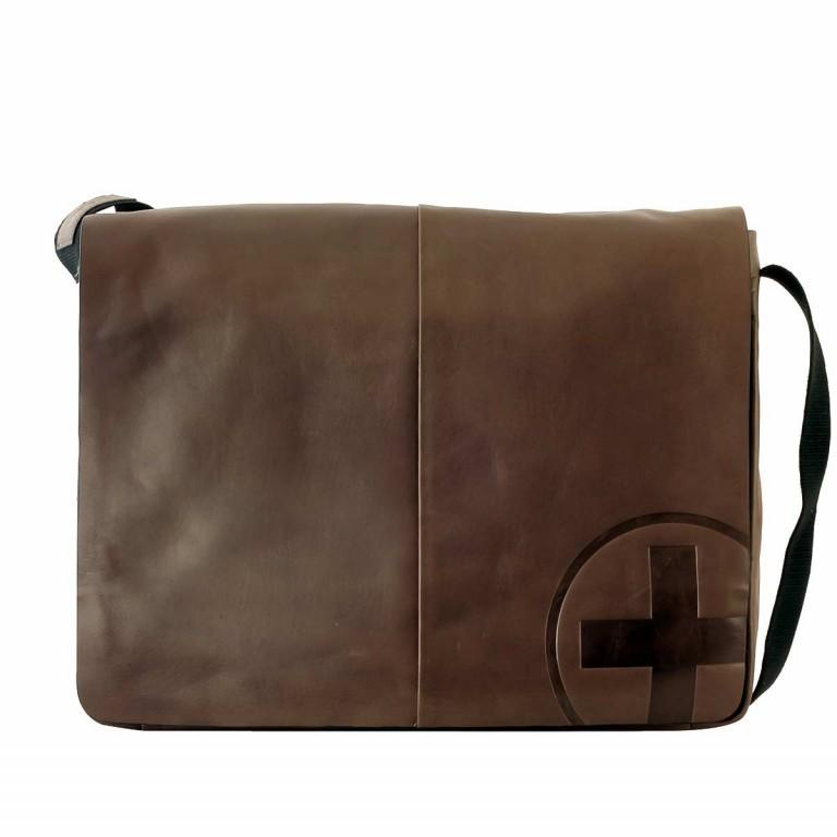 Strellson Jones Messenger LH Dark Brown, Farbe: braun, Manufacturer: Strellson, EAN: 4006053209144, Dimensions (cm): 39.0x33.0x10.0, Image 1 of 1