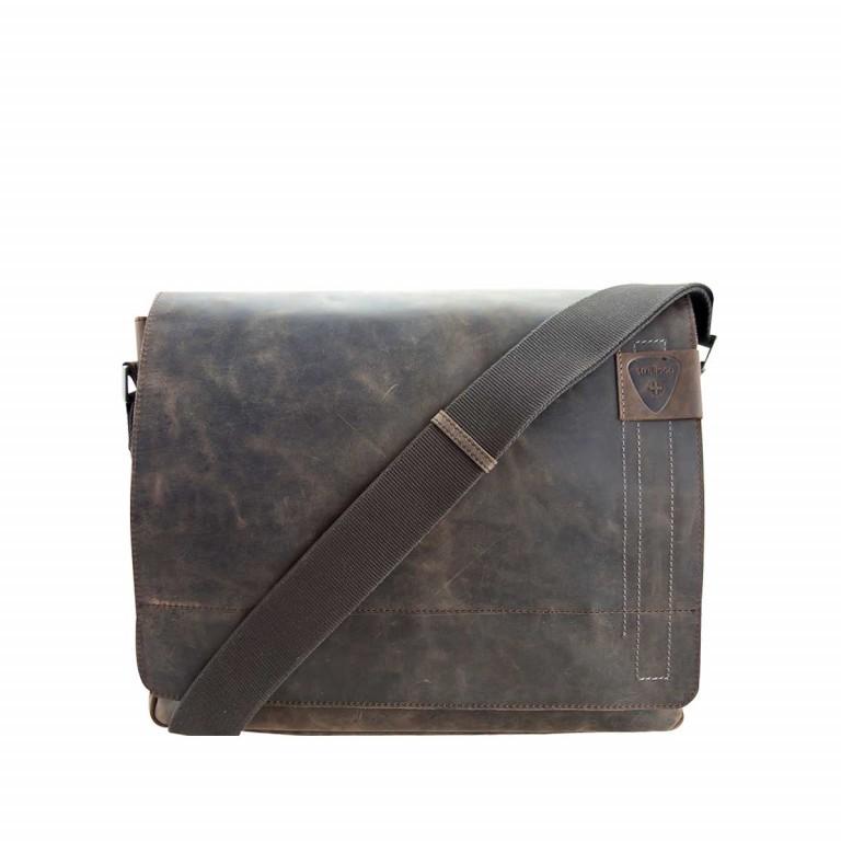 Strellson Richmond Messenger L Dark Brown, Farbe: braun, Marke: Strellson, EAN: 4053533065035, Abmessungen in cm: 39.0x31.0x9.0, Bild 1 von 1
