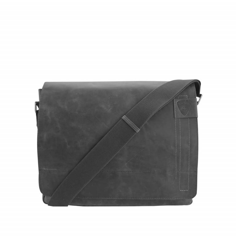 Strellson Richmond Messenger L Black, Farbe: schwarz, Marke: Strellson, EAN: 4053533065042, Abmessungen in cm: 39.0x31.0x9.0, Bild 1 von 1