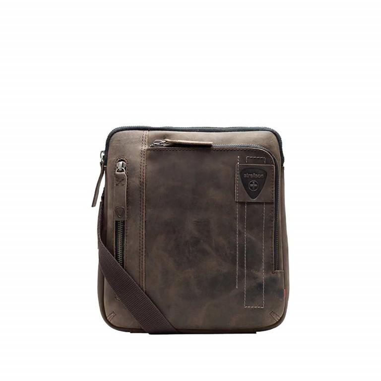 Strellson Richmond Shoulder Bag S Brown, Farbe: braun, Marke: Strellson, EAN: 4053533197286, Abmessungen in cm: 22.0x25.0x4.0, Bild 1 von 1