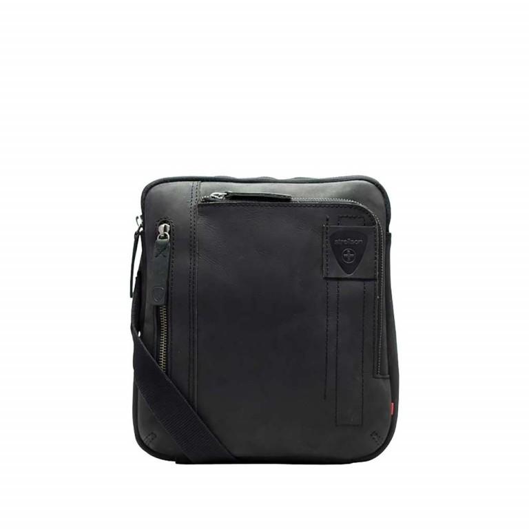 Strellson Richmond Shoulderbag SV Black, Farbe: schwarz, Marke: Strellson, EAN: 4053533197293, Abmessungen in cm: 22.0x25.0x4.0, Bild 1 von 1