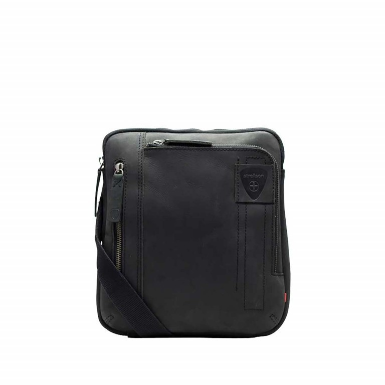 Strellson Richmond Shoulderbag SV Black, Farbe: schwarz, Manufacturer: Strellson, EAN: 4053533197293, Dimensions (cm): 22.0x25.0x4.0, Image 1 of 1