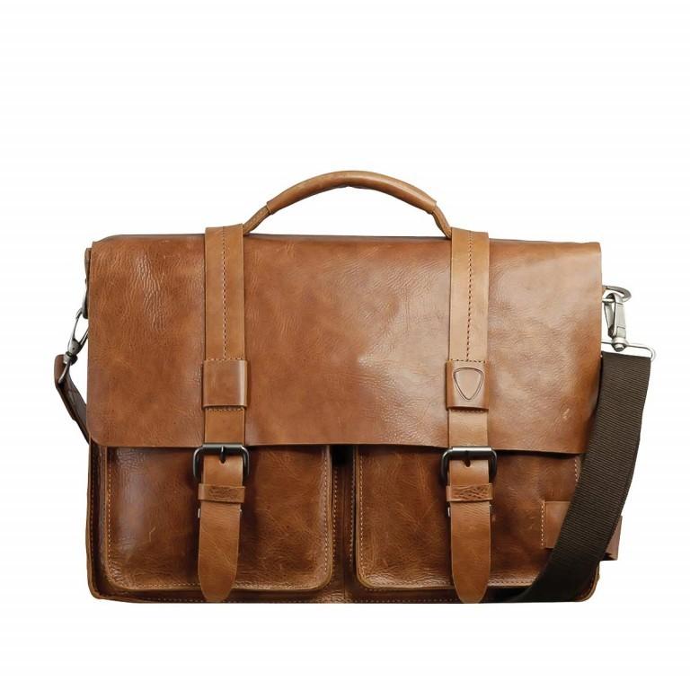 Strellson Blake Briefbag L Cognac, Farbe: cognac, Manufacturer: Strellson, EAN: 4053533279401, Dimensions (cm): 40.0x29.0x10.5, Image 1 of 4