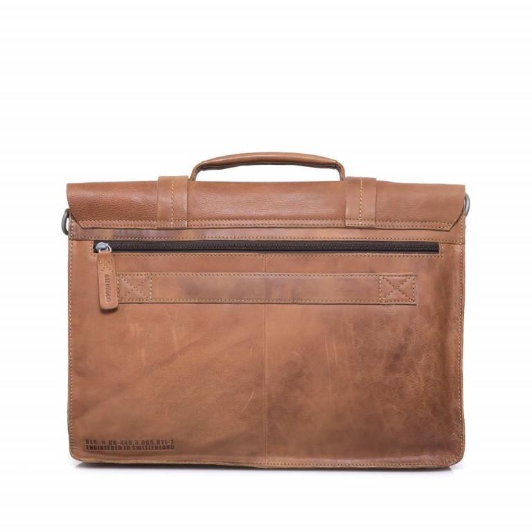Strellson Blake Briefbag L Cognac, Farbe: cognac, Manufacturer: Strellson, EAN: 4053533279401, Dimensions (cm): 40.0x29.0x10.5, Image 2 of 4