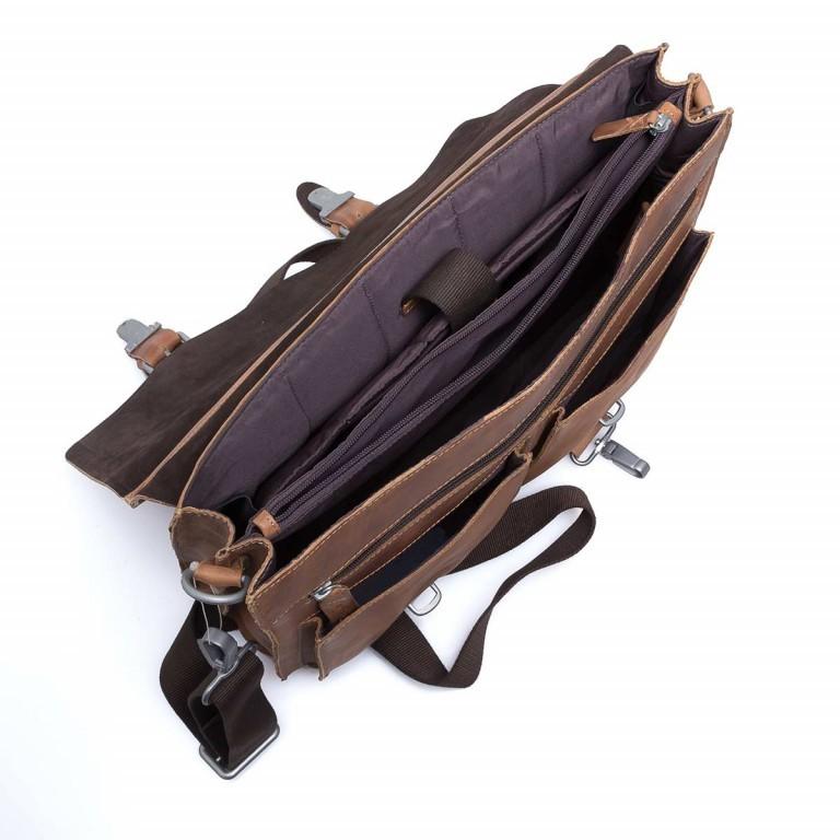 Strellson Blake Briefbag L Cognac, Farbe: cognac, Manufacturer: Strellson, EAN: 4053533279401, Dimensions (cm): 40.0x29.0x10.5, Image 4 of 4