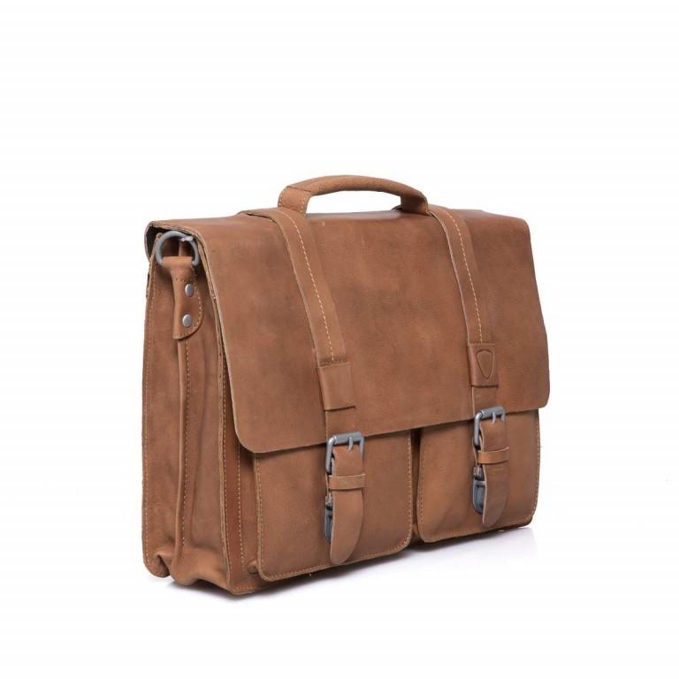 Strellson Blake Briefbag L Cognac, Farbe: cognac, Manufacturer: Strellson, EAN: 4053533279401, Dimensions (cm): 40.0x29.0x10.5, Image 3 of 4