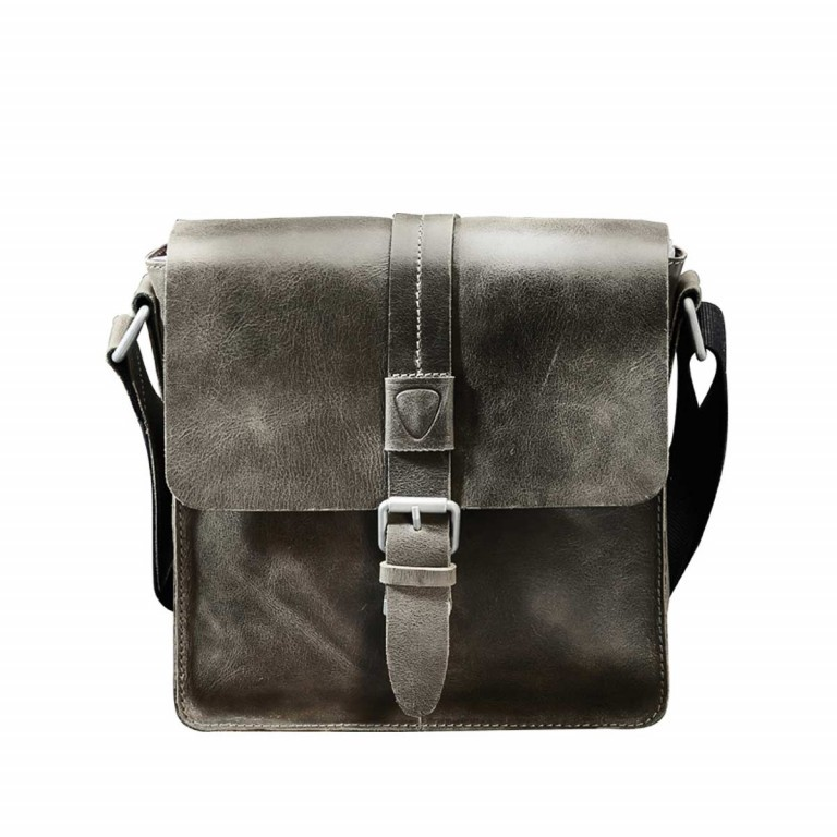 Strellson Blake Messenger S Dark Grey, Farbe: anthrazit, Marke: Strellson, EAN: 4053533405299, Abmessungen in cm: 25.0x25.0x7.0, Bild 1 von 4