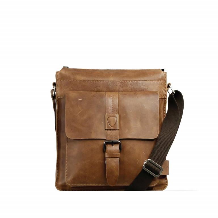 Strellson Blake Shoulder Bag S Cognac, Farbe: cognac, Marke: Strellson, EAN: 4053533279463, Abmessungen in cm: 28.0x31.0x5.5, Bild 1 von 4