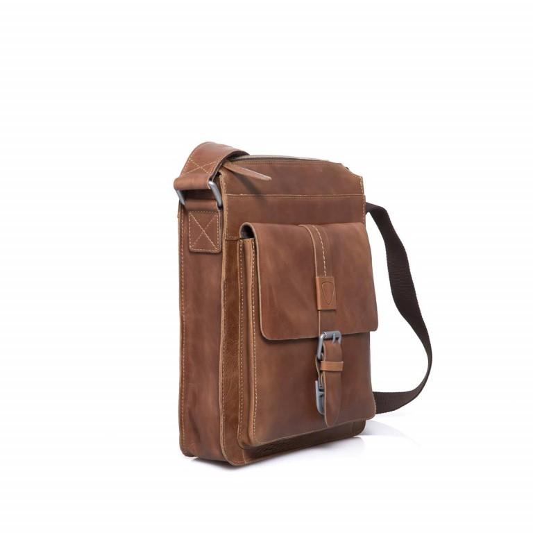Strellson Blake Shoulder Bag S Cognac, Farbe: cognac, Marke: Strellson, EAN: 4053533279463, Abmessungen in cm: 28.0x31.0x5.5, Bild 3 von 4